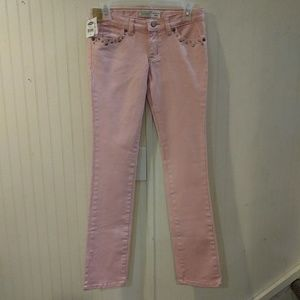 NWT. Old Navy pink slim boot cut jeans